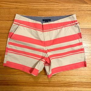 Pink & tan Tommy Hilfiger Shorts
